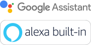 Google Assistant and Amazon Alexa logo