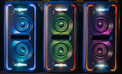 LED lights and DJ effects