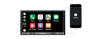 Images of 17.6 cm (6.95 inch) Apple CarPlay/Android Auto™ DAB Receiver