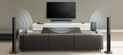 Picture of 5.1ch Home Cinema Soundbar System
