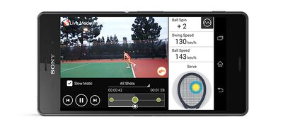 Picture of Smart Tennis Sensor for Tennis Rackets