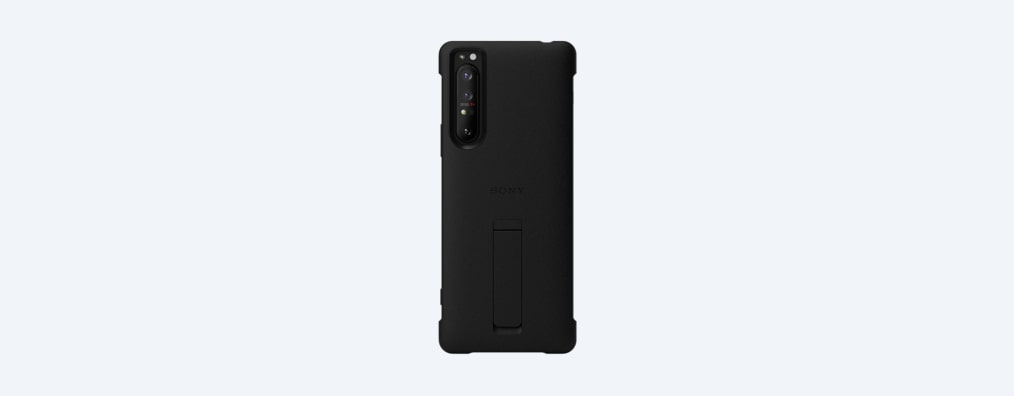 Images of Xperia 1 II Style Cover with Stand XQZ-CBAT | A cover that stands up