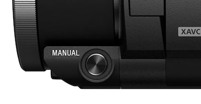Manual button — easy access