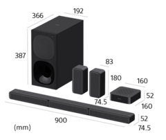 Picture of 5.1ch Home Cinema with Wireless Rear Speakers | HT-S40R