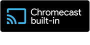 Logo of Chromecast built-in Cast