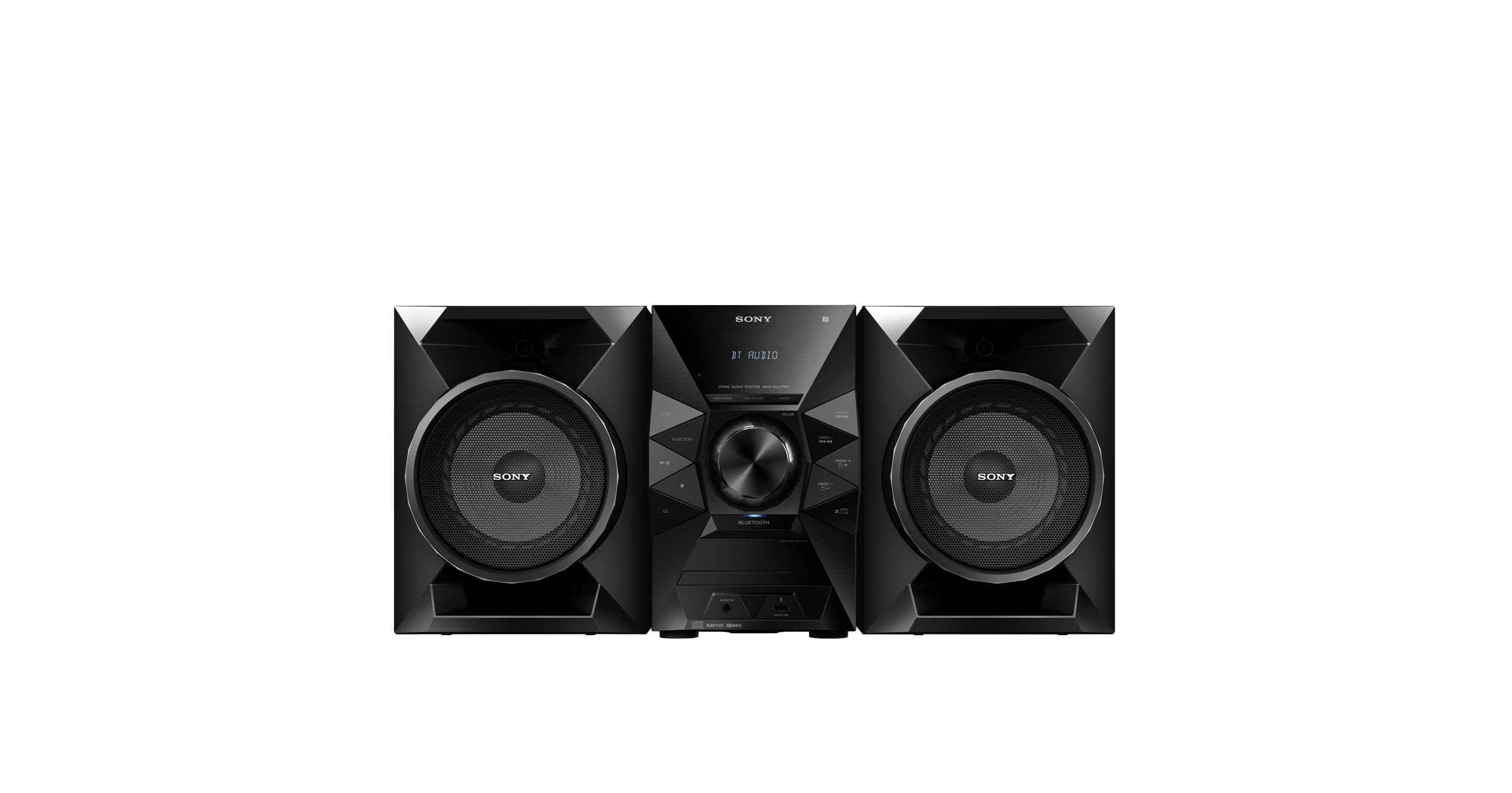 Hi Fi System With Nfc And Bluetooth Technology Mhc Ecl77bt Sony Ie Pc Speaker