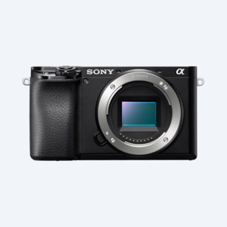 Picture of α6100 APS-C camera with fast AF
