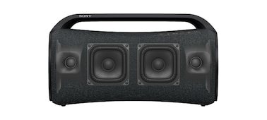 The SRS-XG500 Portable Speaker seen from the front with focus on the X-Balanced Speaker.