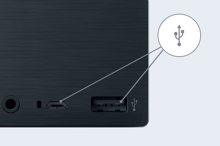 Direct USB connection