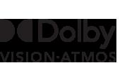 Dolby  Vision & Atmos logo
