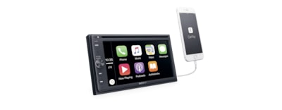 "Images of 16.3cm (6.4"") DVD  Receiver with BLUETOOTH®"