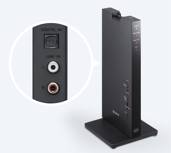 Connect to console or DVD player