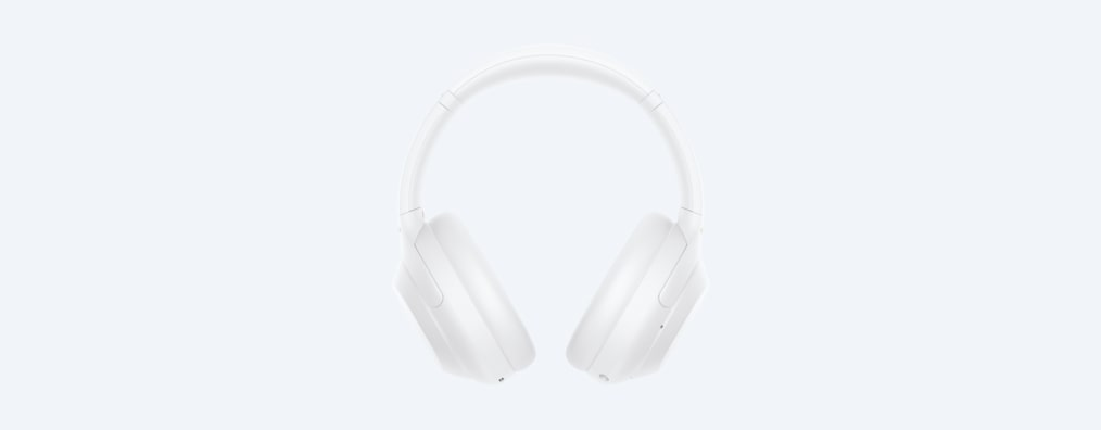 White WH-1000XM4 front product shot