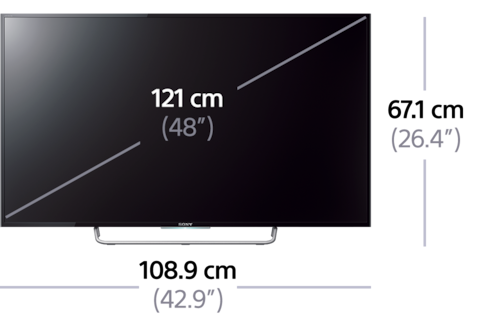 Picture of W70C LED TV with Full HD Display
