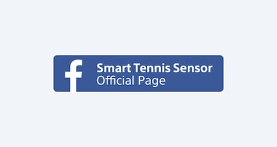 facebook Smart Tennis Sensor Official Page