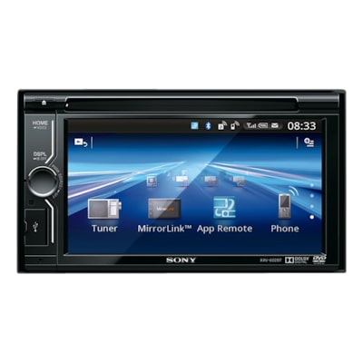 "Picture of 15.5cm (6.1"") LCD DVD Receiver with MirrorLink"
