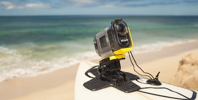 AS20 Action Cam with Wi-Fi in action