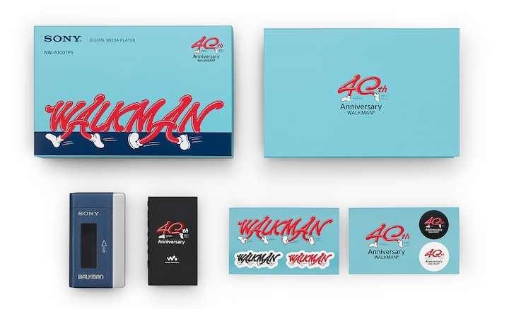 Contents of Walkman 40th Anniversary Package