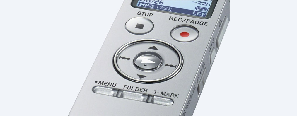Images of UX530 Digital Voice Recorder UX Series