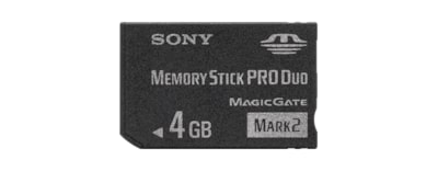 Images of Memory Stick Pro Duo