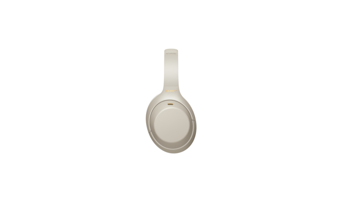 WH-1000XM4 headphones right side white