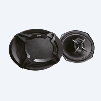 "Picture of 16x24cm (6x9"") 2-Way Coaxial Speakers"