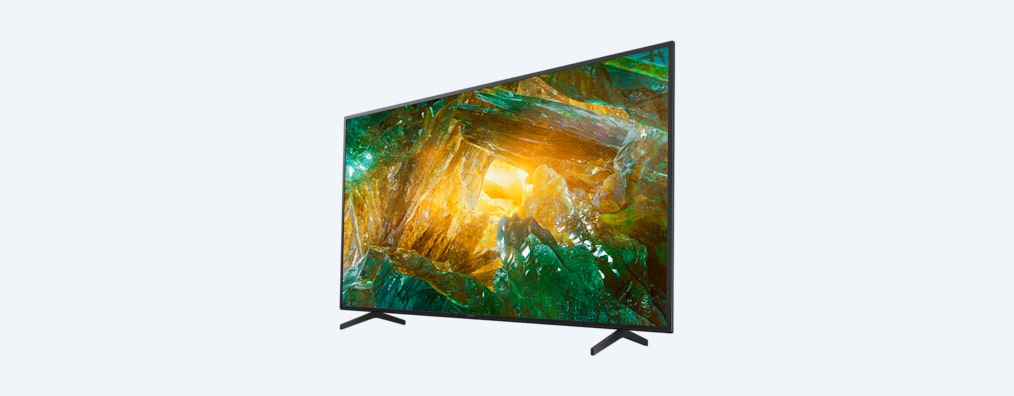 XH80 BRAVIA Television front angled