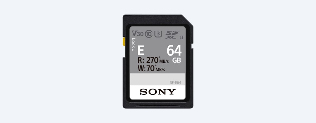 Images of SF-E Series UHS-II SD Memory Card
